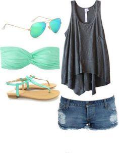 Perfect for the beach #fashion [ DDFLImport.com ]