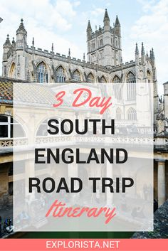 When thinking of epic road trips, the Southern part of England may not pop up in your mind instantly. But there really is no reason it shouldn't make its way onto your bucketlist. England is filled with adorable little villages, gorgeous historic buildings, green nature, savoury foods and incredibly friendly people.