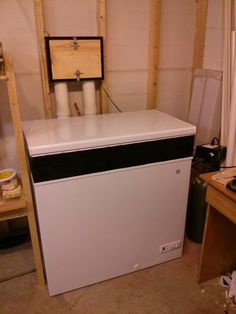 In-Wall Tapped Kegerator from a Chest Freezer