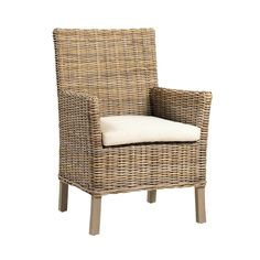 The Madison Chair by Dovetail is part an eclectic range of handmade furniture, accessories and textiles. Hardwood frame Grey toned Kubu rattan with seal Loose, off-white seat cushion Seat height (cushion height Thrift Store Furniture, Furniture Showroom, Large Furniture, Handmade Furniture, Hickory Furniture, Furniture Dolly, Furniture Logo, Rattan Furniture, Outdoor Furniture