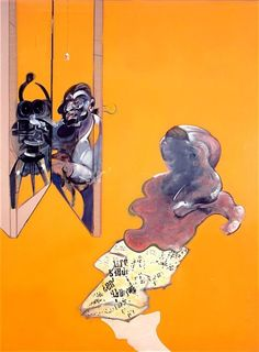 FRANCIS BACON Triptych – Studies from the Human Body 1970 oil on canvas, each panel 147.5 x 198 cm.