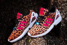 ADIDAS ZX FLUX 'LEOPARD', sportswear, sport chic, street wear, cute shoes, sneakers