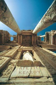 Library of Celsius in Ephesus, Turkey (135 AD)