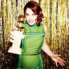 """Ruth Wilson -- Best Actress in a TV Series, Drama, """"The Affair"""" #goldenglobes (Photo by @ellenvonunwerth)  IMAGE: @GOLDENGLOBES ON INSTAGRAM"""