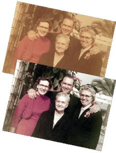 more photo restoration tips - love this