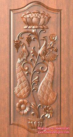 60 Ideas for double exterior door interior design Pooja Door Design, Home Door Design, Wooden Main Door Design, Double Door Design, Bedroom Door Design, Door Design Interior, Exterior Design, Double Doors Exterior, Entrance Doors