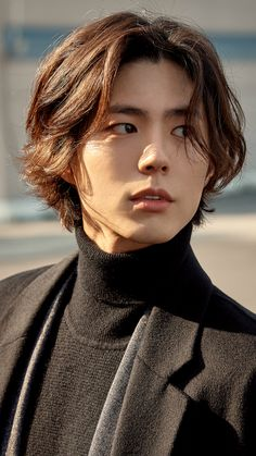 Korean Men's Hairstyles - Mens Hair Styles Asian Actors, Korean Actors, Park Go Bum, Handsome Asian Men, Hair Reference, Bo Gum, Grunge Hair, Korean Celebrities, Korean Men