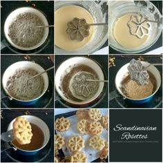 Easy recipe for Scandinavian Rosettes. Thin, cookie-like, deep-fried pastry treats are light and crispy. Perfect on your holiday cookie tray. Rosettes Cookie Recipe, Rosette Recipe, Rosette Cookies, Scandinavian Rosettes Recipe, Grateful Prayer, Thankful Heart, Norwegian Food, Norwegian Recipes, Scandinavian Food
