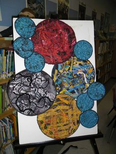 Created this art quilt with students (K-5) as part of a week-long residency.   Residencies available world-wide.  Contact BaileyFiberArt.com