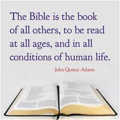 john quincy adams quote on God& Word - Yahoo Image Search Results Thy Word, Word Of God, Scripture Quotes, Bible Scriptures, How To Read People, Bible Pictures, Think, God Loves Me, Quincy Adams