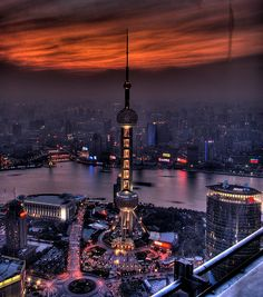 Shanghai, China. The Bund.