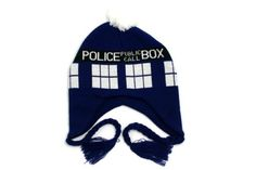 DR Doctor Who New Official Licensed TARDIS Laplander Winter HAT Police Box  GIFT 84f66db1c3dc