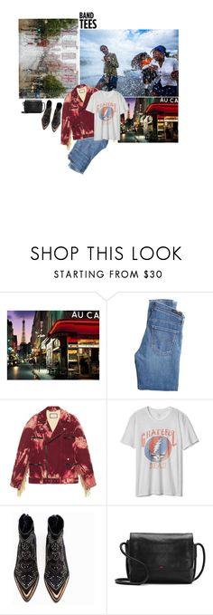 """""""(3)"""" by zae213 ❤ liked on Polyvore featuring National Geographic Home, Citizens of Humanity, Gucci, Gap, Zadig & Voltaire, ED Ellen DeGeneres, GratefulDead and bandtees"""