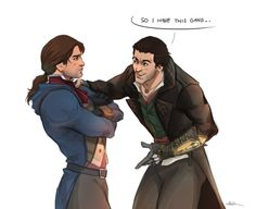 Arno and Jacob by bbsketches