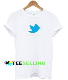 Twitter T-shirt Adult Unisex For men and women Price: 15.50 #shirt Funny Shirt Sayings, Shirts With Sayings, Funny Shirts, Cute Graphic Tees, Graphic Shirts, Twitter T, Men And Women, Workout Shirts, How To Look Better