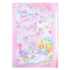 500ded1492bf Buy Q-Lia Little Fairy Tale Alice in Wonderland B5 Plain Notebook at ARTBOX  Alice