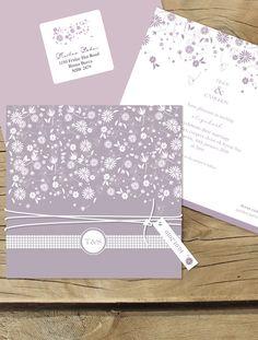 falling into spring - Lilykiss wedding invitations.