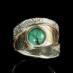 Nature Jewelry Wrap Rings Handcrafted by Baton Rouge, Louisiana artist, Ana Maria Andricain - Jewel of Havana Handcrafted Jewelry