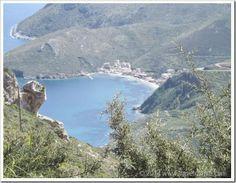 TravelnWrite: Road trip Greece: Porto Kagio in the Peloponnese