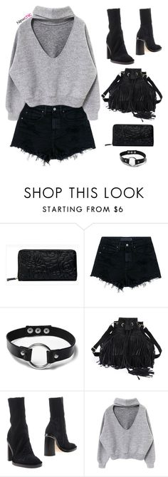 """""""NEWCHIC 3"""" by aliensforsale ❤ liked on Polyvore featuring Alexander Wang and Ann Demeulemeester"""