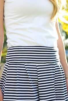 Skirt to sew tutorial