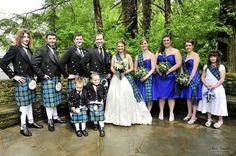 How To Plan A Scottish Themed Wedding Gunn Ancient Tartan Traditions