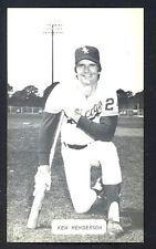 Ken Henderson J D McCarthy postcard White Sox