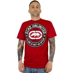 T-Shirt Ecko MMA Seal red ★★★★★