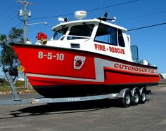 Cutchogue Fire Department (NY) Fire Rescue Boat     http://setcomcorp.com/marine.html