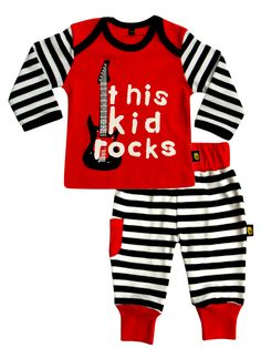 This Kid Rocks Tee and Trouser Set