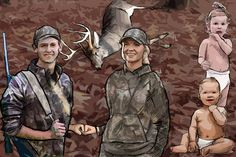 My wife and I are cut from separate molds. We have very few things in common. Deer Hunting Tips, Realtree Camo, Deer Stands, Shake Hands, Significant Other, Big Game, Faith In God, Quality Time, Diapers