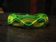 ZigZag Macrame Pattern Bracelet