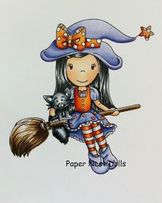 The Paper Nest Dolls is having a new release come see al the new Fall and Halloween images available. #thepapernestdolls #newrelease #copicssketch #fall #halloween