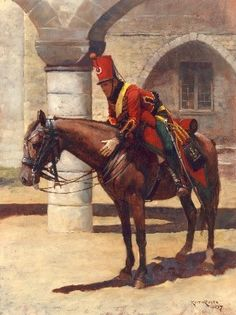 Mounted Chasseur of the Young Guard-1815-Keith Rocco