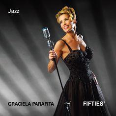Fifties, de Graciela Parafita. Tapa de CD. Diseño y realización Carlos Carpintero.