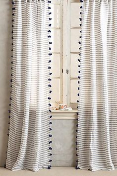 3 Stunning Cool Ideas: Linen Curtains With Border bay window curtains.No Sew Curtains Throw Pillows ikea curtains bed canopies.How To Make Curtains How To Paint. No Sew Curtains, Tassel Curtains, Double Curtains, Home Curtains, Curtains With Blinds, Kitchen Curtains, Boys Room Curtains, Yellow Curtains, Striped Curtains