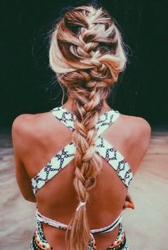 Beachy braids a la Amber Fillerup Clark of Barefoot Blonde!