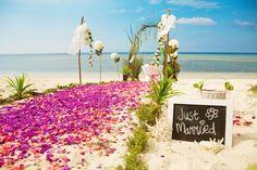 Just married...al the best! / Recién casados...¡enhorabuena! #BarceloWeddings #Weddings #Bodas #DominicanRepublic #RepublicaDominicana