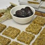 Date Nut And Seed Squares