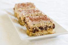 Tiramisu Cheesecake Bars