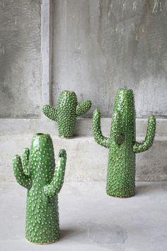 ceramic cactus // Se