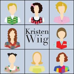 The many faces of Kristen Wiig | {The Berry}