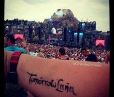 Tomorrowland  tattoo