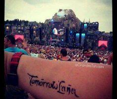 Tomorrowland  tattoo