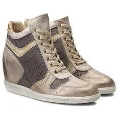 Sneakersy CARINII - B3344  Dave Met. 6715/Tesla Ivory/Lucerna 3