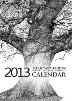 Sarah Woolfenden Pen and Ink Drawings calendar. I got the 2014 version from Indigo and Rose and I LOVE it!