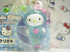 GOTOCHI Hello Kitty HOKKAIDO Japan LIMITED Mobile Phone Strap Authentic Sanrio 2003