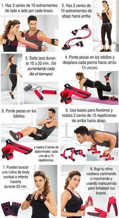 Rutina de ejercicios: 8 pasos para mantener tu cuerpo en forma, tonificado y saludable. Duprée