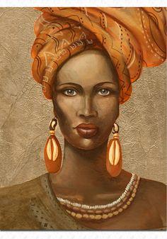 Pinturas ciganas portrait - Pesquisa Google