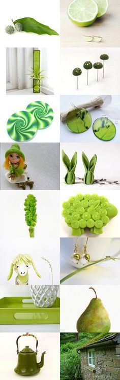 Fresh green by Roma Jure on Etsy--Pinned with TreasuryPin.com